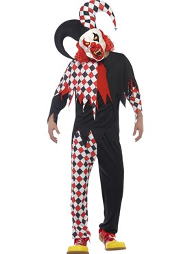 Adult Crazed Jester Costume
