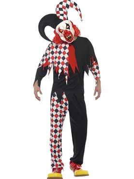 Adult Crazed Jester Costume