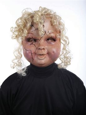 Adult Creepy Carrie Mask Couples Costume