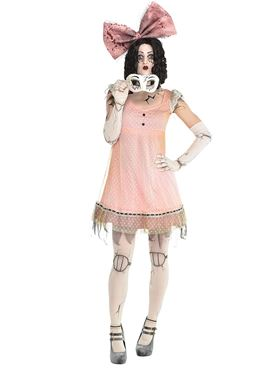 Adult Creepy Doll Costume