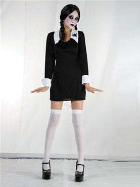 Adult Creepy School Girl Costume Thumbnail