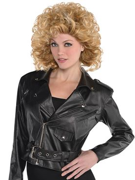 Adult Cropped Leather Jacket Thumbnail