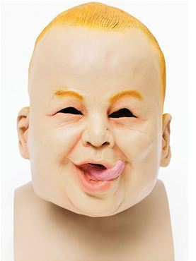 Adult Baby Boy Mask