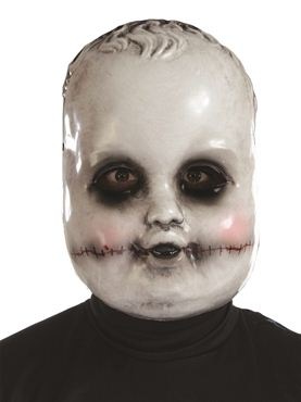 Adult Smiling Sammie Doll Mask