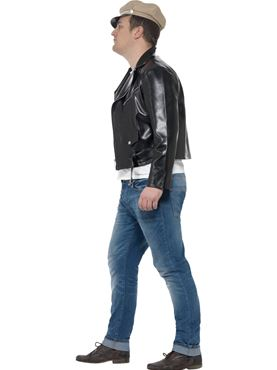 Adult Plus Size 50s Rebel Costume - Back View
