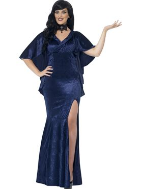 Adult Curves Sorceress Costume