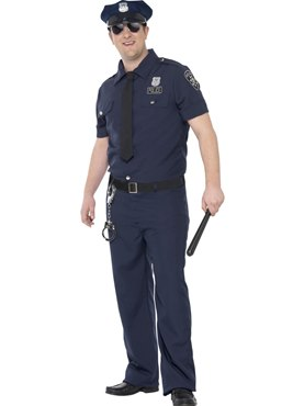 Adult Plus Size NYC Cop Costume