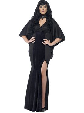 Adult Curves Vamp Costume