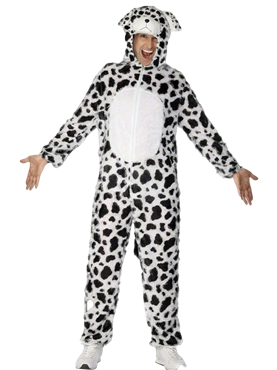 Adult Dalmatian Costume Couples Costume