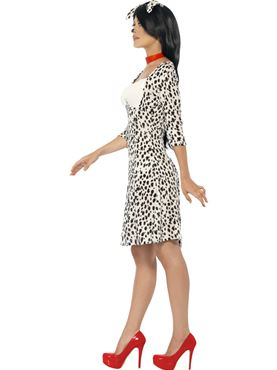 Adult Dalmatian Costume - Back View