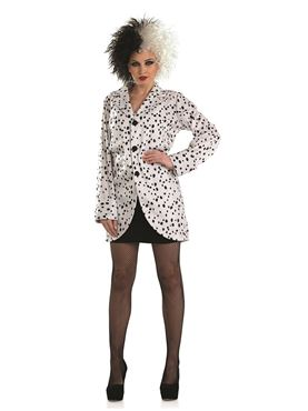 Adult Dalmatian Jacket Costume  sc 1 st  Fancy Dress Ball & Adult Dalmatian Jacket Costume - FS3991 - Fancy Dress Ball