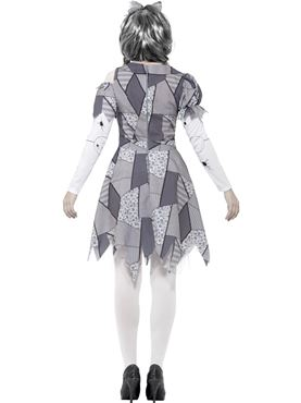 Adult Damaged Doll Costume - Side View