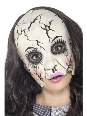 Adult Damaged Doll Mask