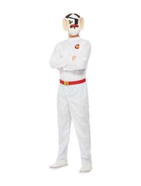 Adult Danger Mouse Costume - Back View