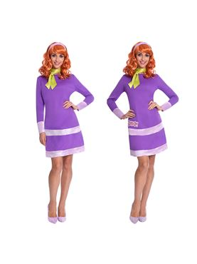 Adult Daphne Scooby Doo Costume - Side View