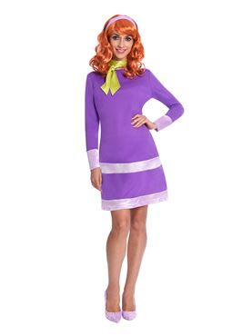 Adult Daphne Scooby Doo Costume - Back View