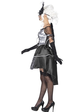 Adult Dark Angel Masquerade Costume - Back View