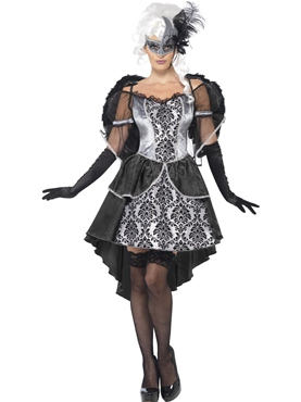 Adult Dark Angel Masquerade Costume Thumbnail