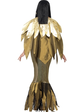 Adult Dark Cleopatra Costume - Side View