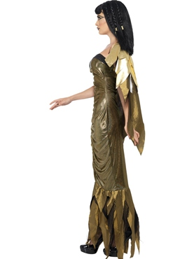 Adult Dark Cleopatra Costume - Back View