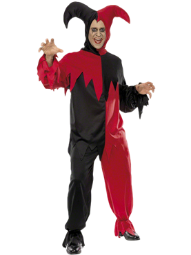 Adult Dark Jester Costume Couples Costume