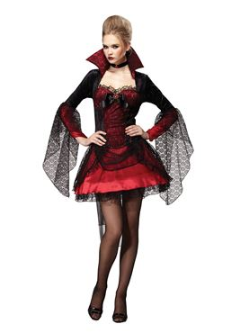 Adult Dark Mistress Vampiress Costume
