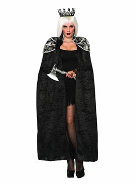 Adult Dark Royalty Queen Cape
