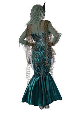 Adult Dark Sea Siren Costume - Side View