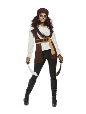 Adult Dark Spirit Pirate Costume