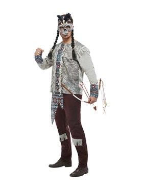 Adult Dark Spirit Warrior Costume