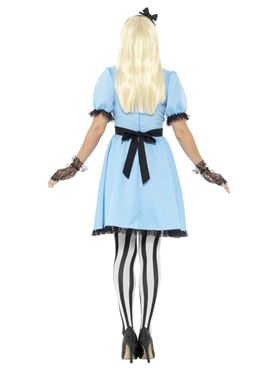 Adult Dark Tea Party Costume - Side View