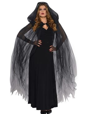 Adult Dark Temptress Cape