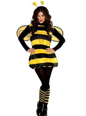 Adult Darling Bumblebee Costume Couples Costume