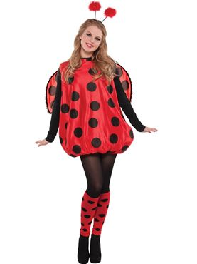 Adult Darling Ladybird Costume Couples Costume