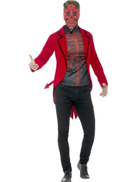 Adult Day of the Dead Devil Costume