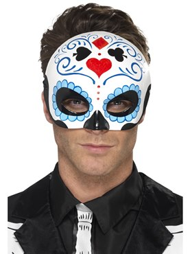 Adult Day of the Dead Eyemask