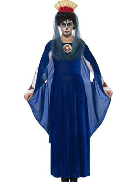 Adult Day of the Dead Sacred Mary Costume