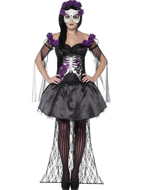 Adult Day of the Dead Senorita Costume Thumbnail