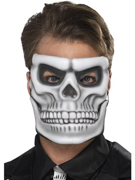 Adult Day of the Dead Skeleton Mask