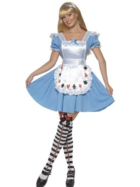 Adult Deck of Cards Alice Girl Costume Couples Costume
