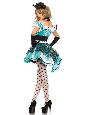 Adult Delightful Alice Costume - Back View