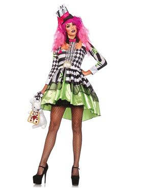 Adult Deliriously Mad Hatter Costume