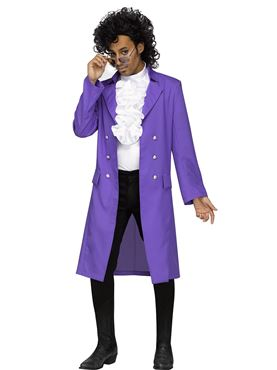 Adult Purple Rain Costume