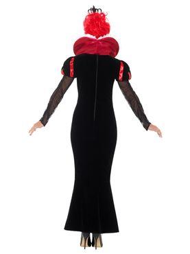 Adult Deluxe Baroque Dark Queen Costume - Side View