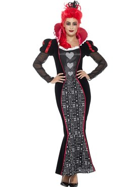 Adult Deluxe Baroque Dark Queen Costume