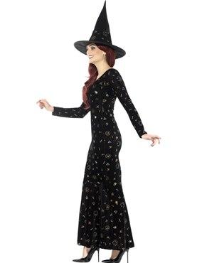 Adult Deluxe Black Magic Ouija Witch Costume
