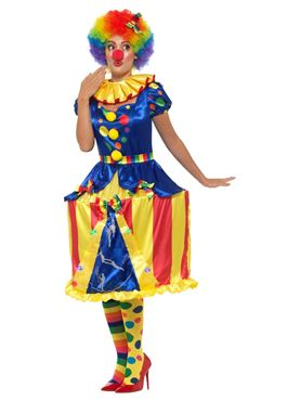 Adult Deluxe Carousel Clown Costume - Side View