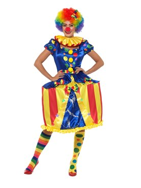 Adult Deluxe Carousel Clown Costume
