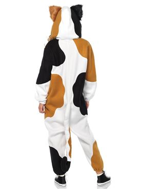 Adult Deluxe Cat Kigarumi Funsie Costume - Back View