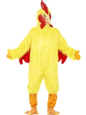 Adult Deluxe Chicken Costume